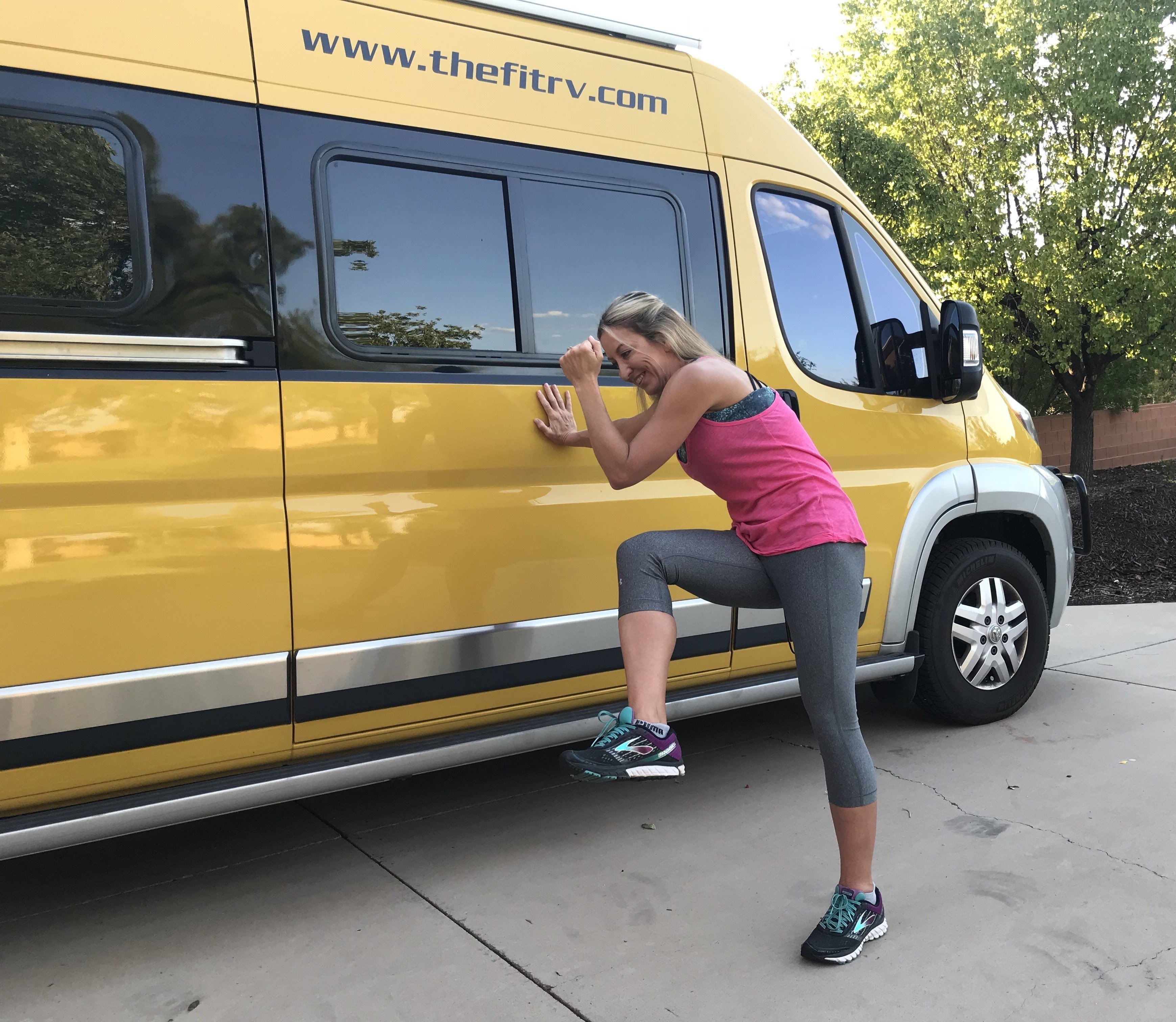 Healthy Road Tripping: Rest Stop Recharges