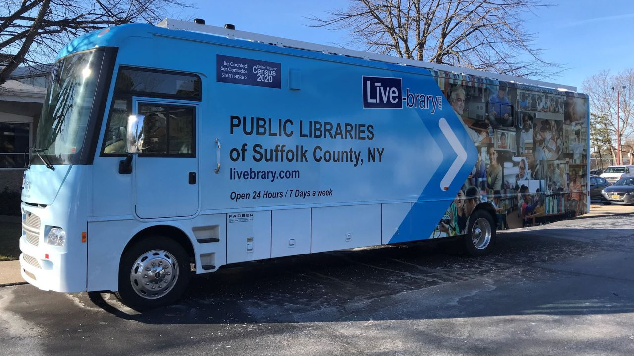 The Wyandanch library, closed for months, looks to roll out a portable restart of services
