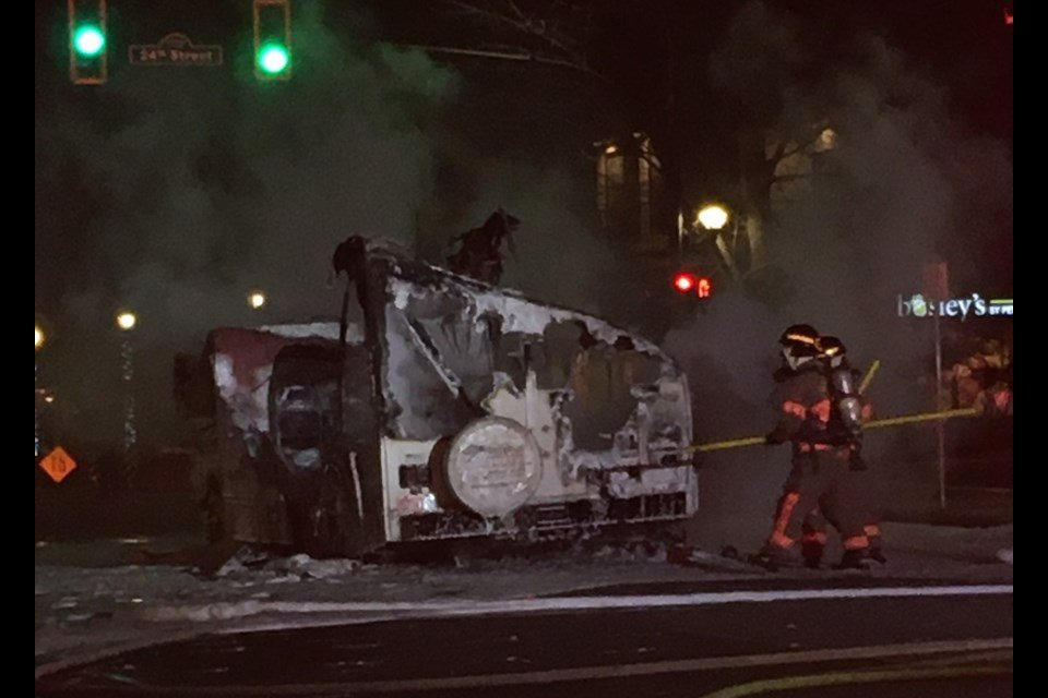 Fundraiser set up for 83-year-old man left homeless after RV fire in West Vancouver
