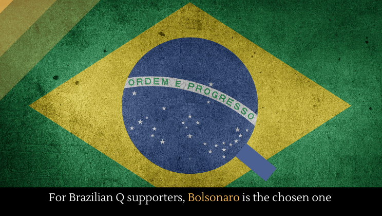 For Brazilian Q supporters, Bolsonaro is the chosen one