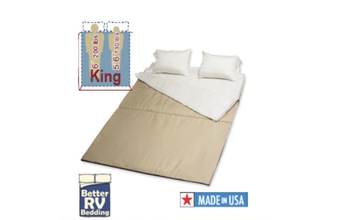 RVSuperbag: A cozy solution for making those tricky RV beds
