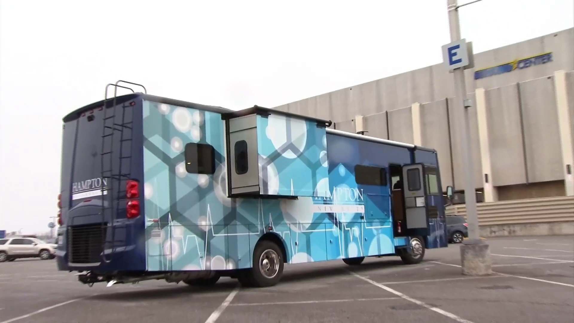 COVID-19 rural clinic bus made in Roanoke could be first of many