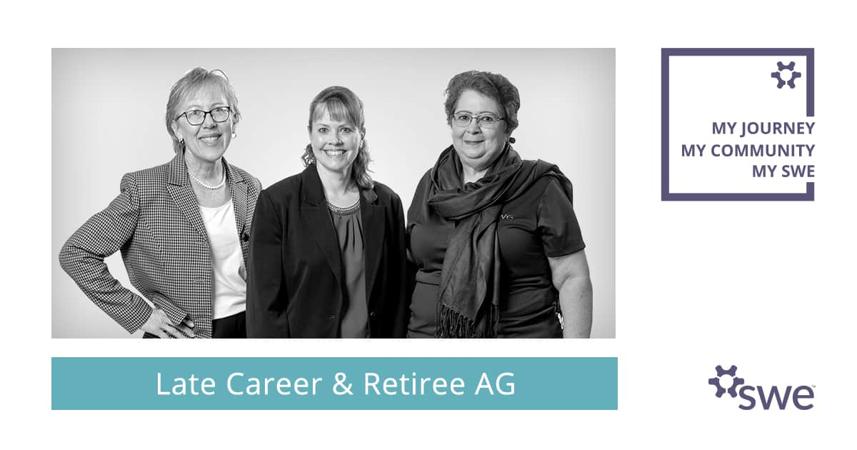 SWE Community Spotlight: Late Career & Retiree Affinity Group