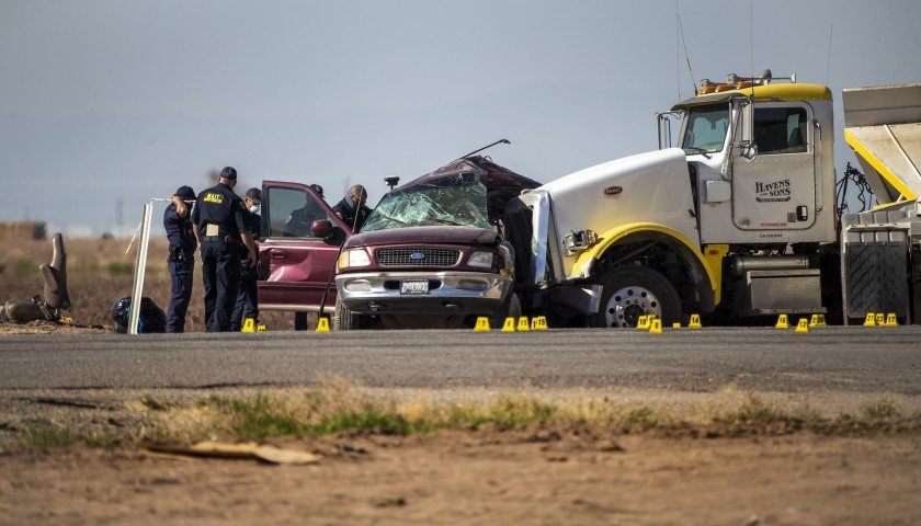 Cause of crash that killed 13 still a mystery, as is why 25 people were packed into SUV