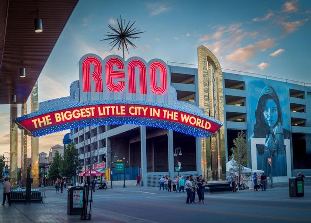 Big art in Little City of Reno