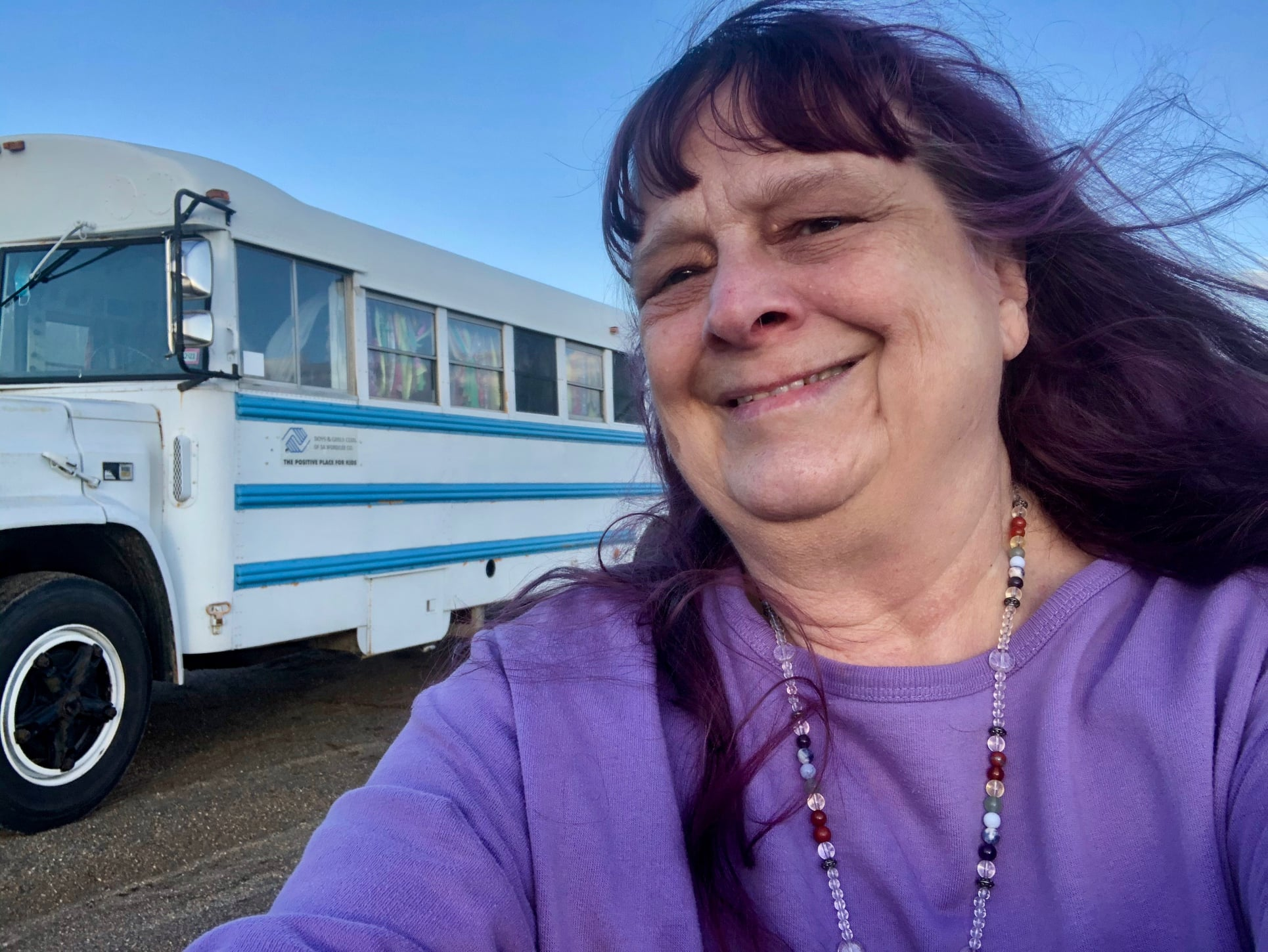 Meet Lynn Woike, the 'Skoolie-Driving, Witch on Wheels'